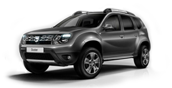 Rent a Dacia Duster Plus (2016-18)